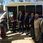 Welcoming a new van into service at the Sudbury Senior Center