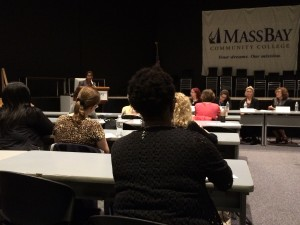 Carmine at MetroWest Commission on the Status of Women Hearing