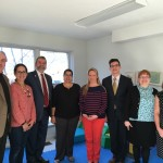 Carmine visiting Criterion Child Enrichment Center in Framingham