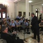 Carmine at State House with Sudbury Curtis Middle School students #2