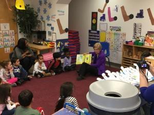 Visiting a Framingham Day Care Center with Senator Elizabeth Warren