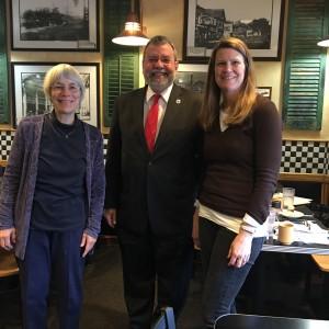 Carmine meeting with Interfaith Clergy Association in Wayland